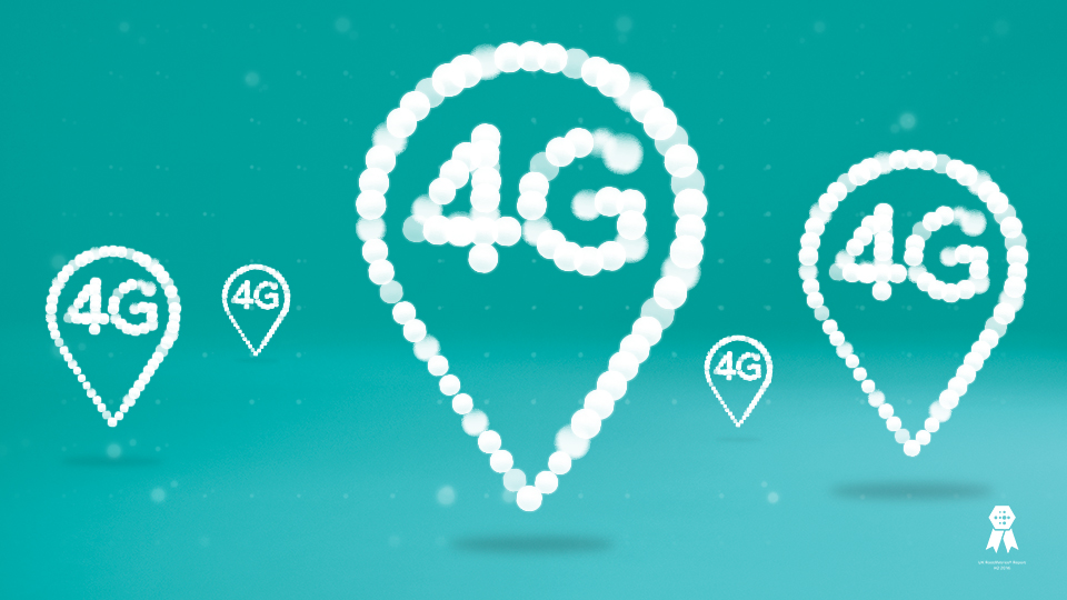 Infographic showing 4G coverage commitment for 2020