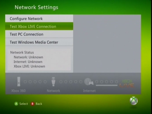 how to use mac adress to connect xbox 360