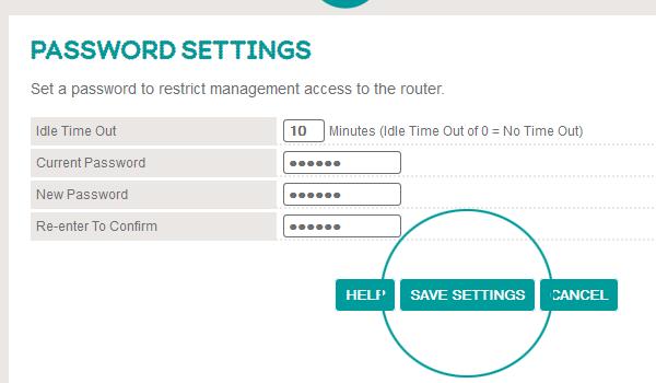 how to change your rounters password cogeco