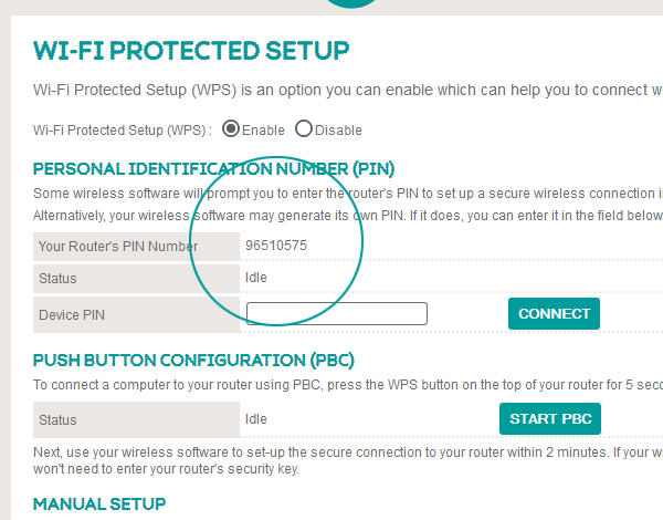 Bright Box Router Connect Using Wifi Protected Setup Wps