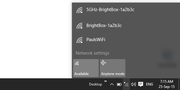 Windows wireless connection | Help | EE