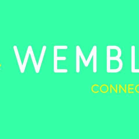 Wembley connected by EE logo - landscape