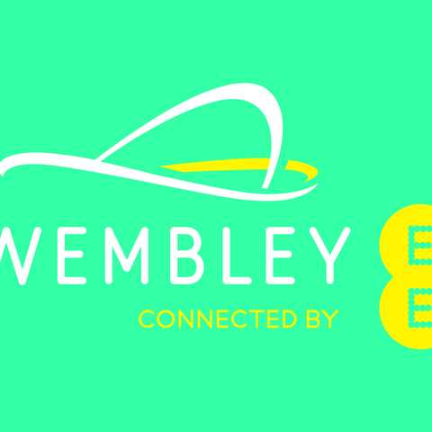 Wembley connected by EE logo