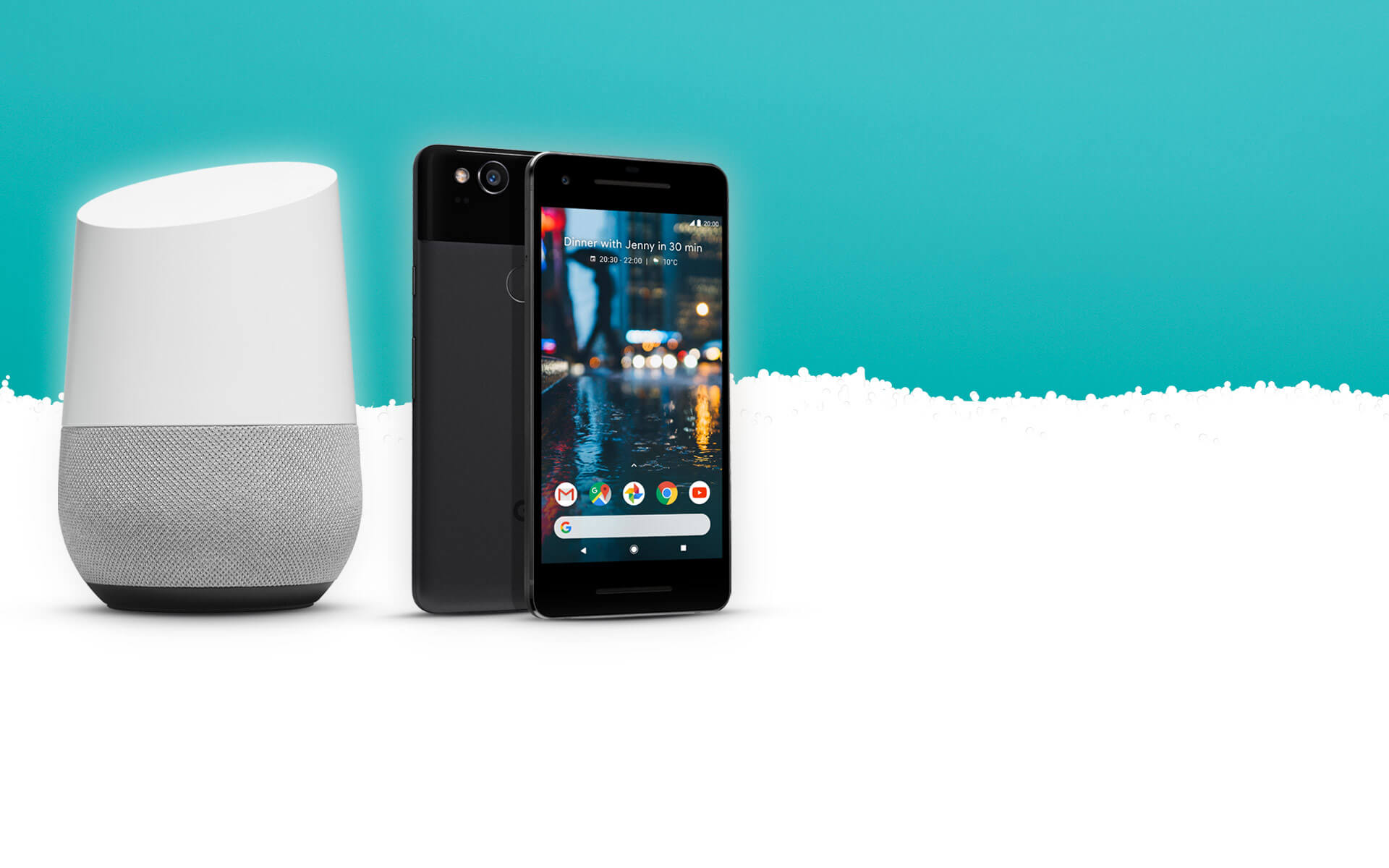 Buy the Google Pixel 2 and get a free Google Home