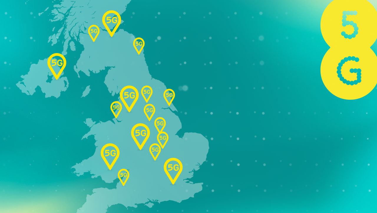 EE Coverage Checker | Check 5G, 4G, 3G & 2G in your area