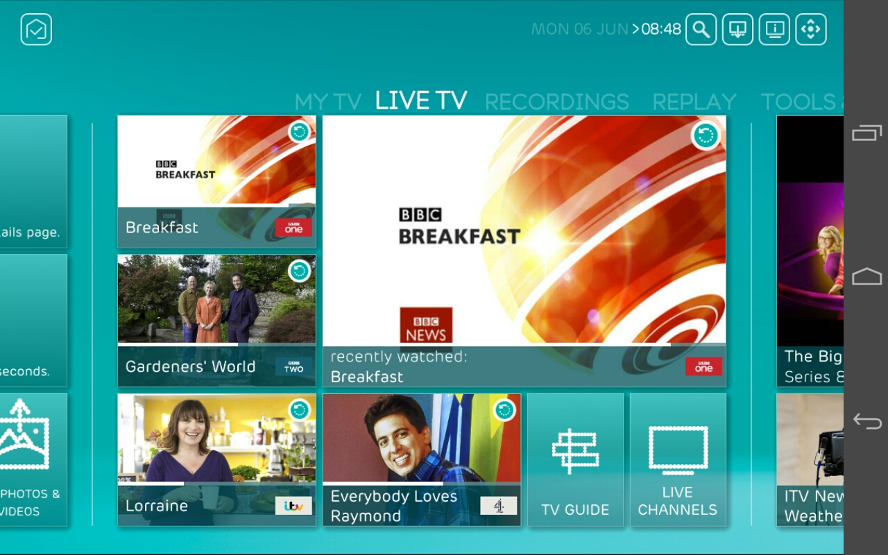 Phone Can I Watch Live Tv On My Android Phone watching tv on a phone or tablet with ee find the live programme recorded content you want to watch for example from menu