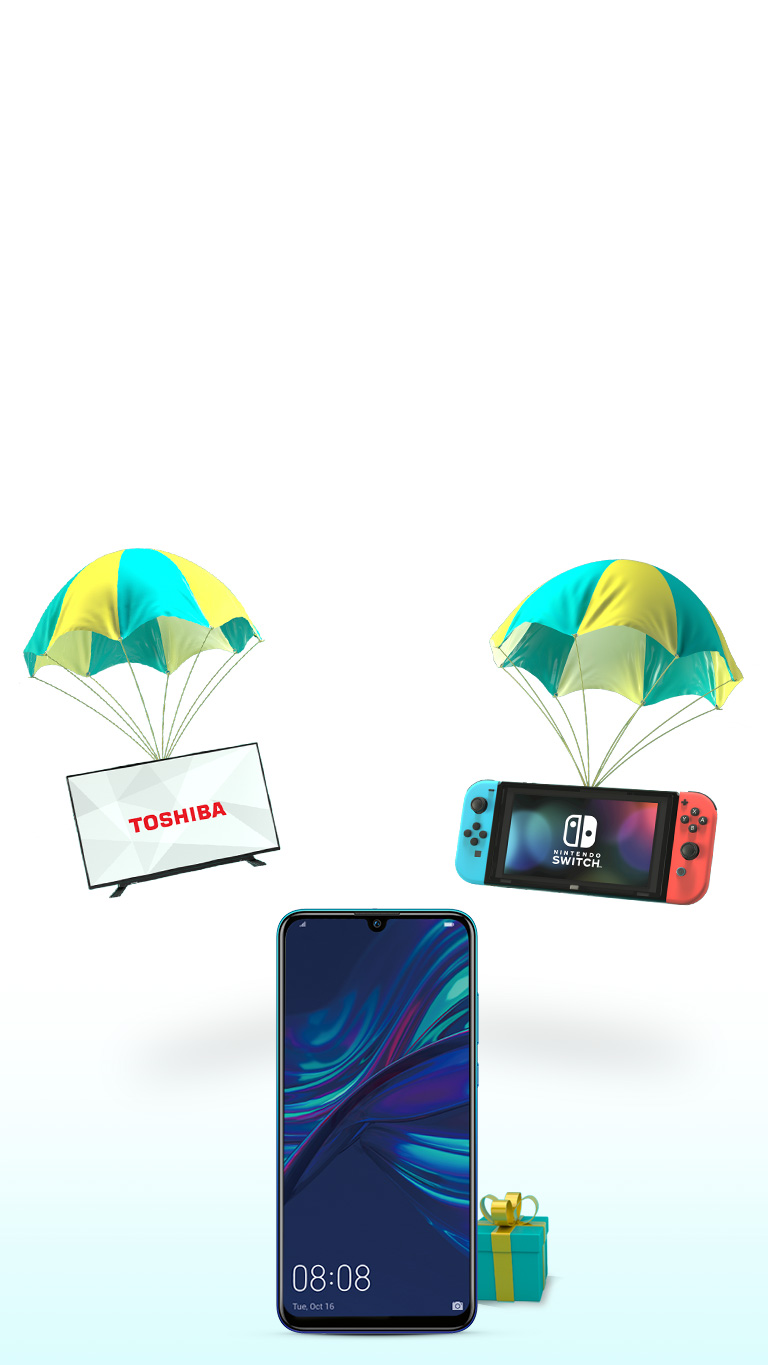 Huawei P Smart & gifts with Parachutes