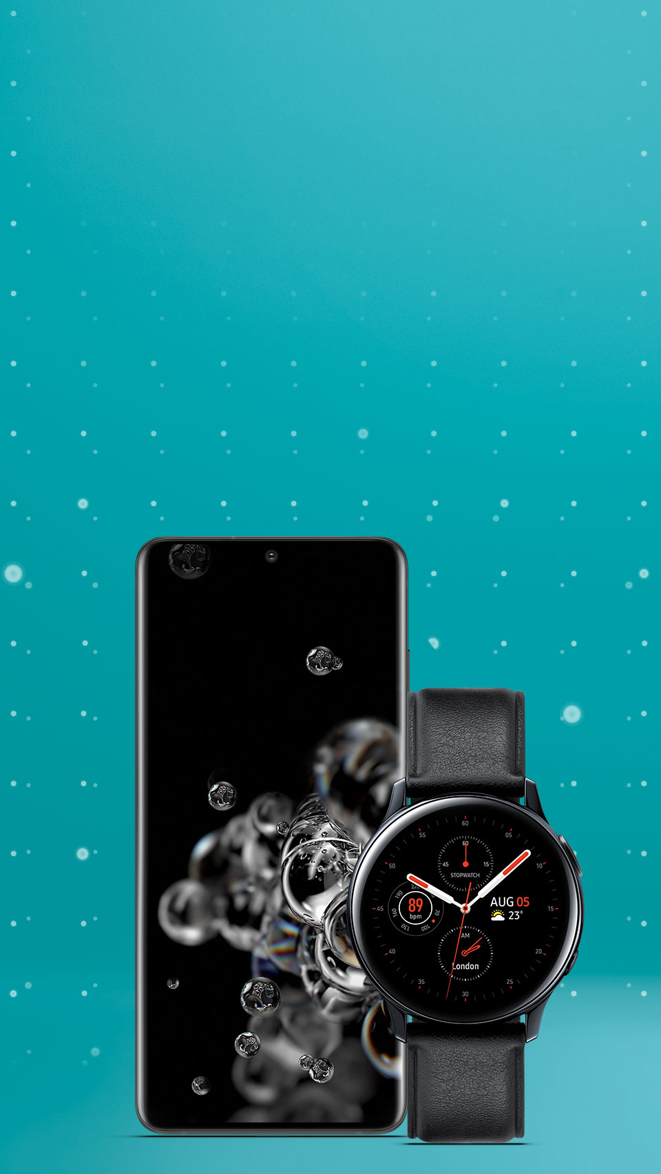 Pre-order the Samsung Galaxy S20 and save up to £240 on Samsung Galaxy Watches