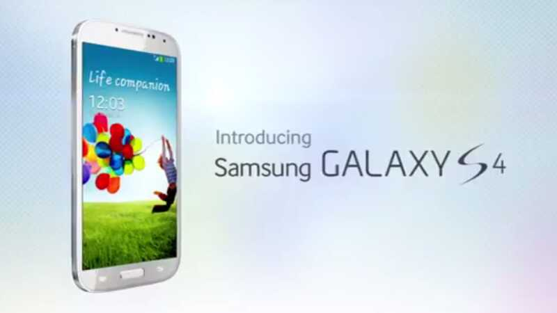 Samsung Galaxy S4 White Frost video