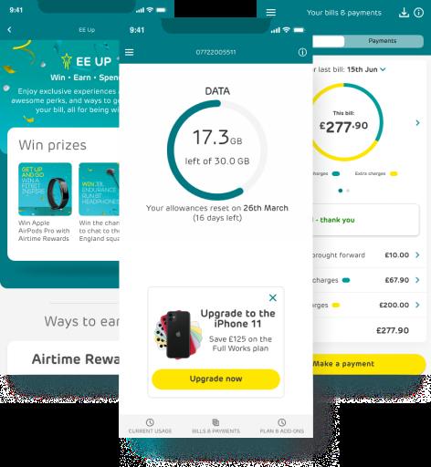EE app