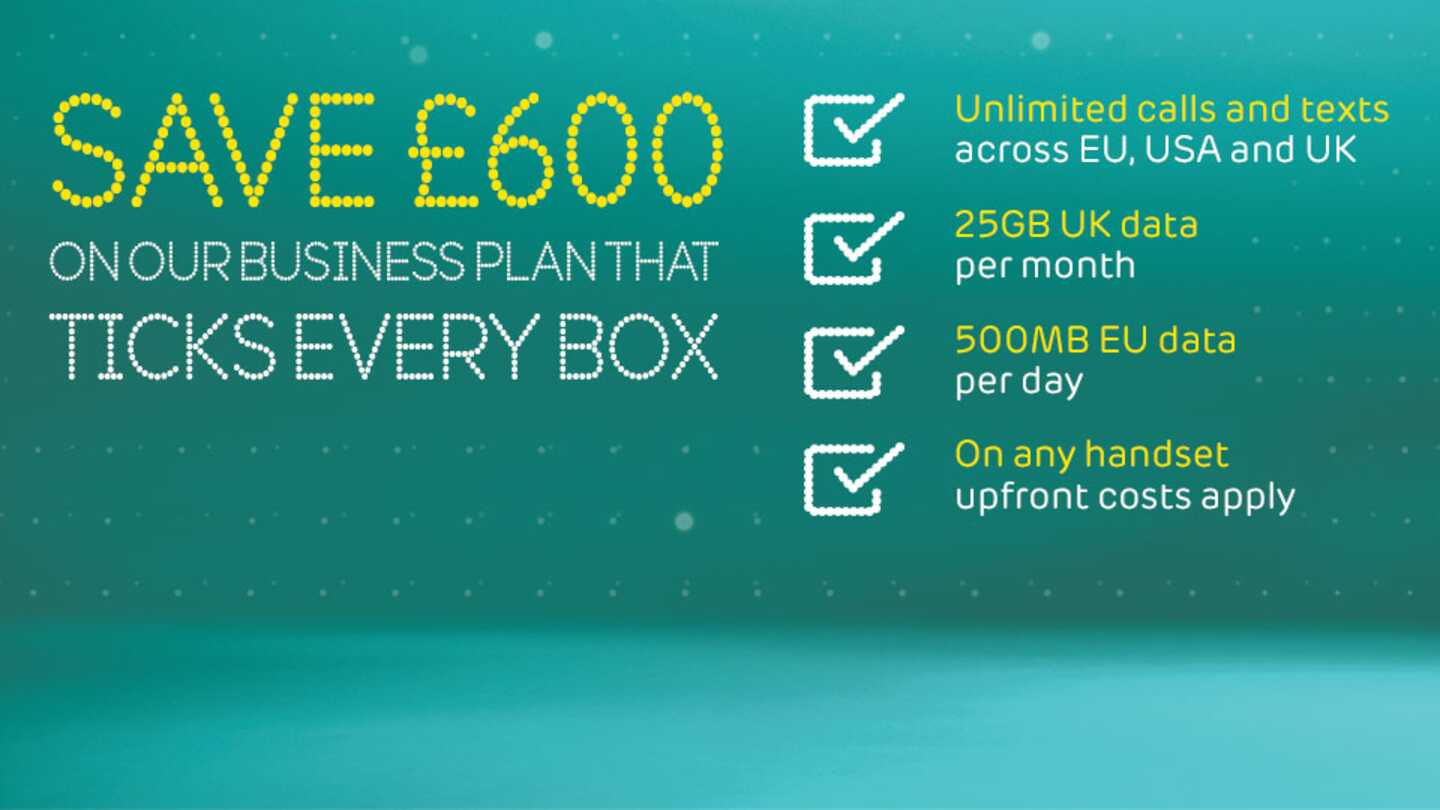 Save £600 on our business plan that ticks every box