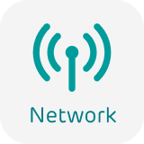 Network Coverage signal icon
