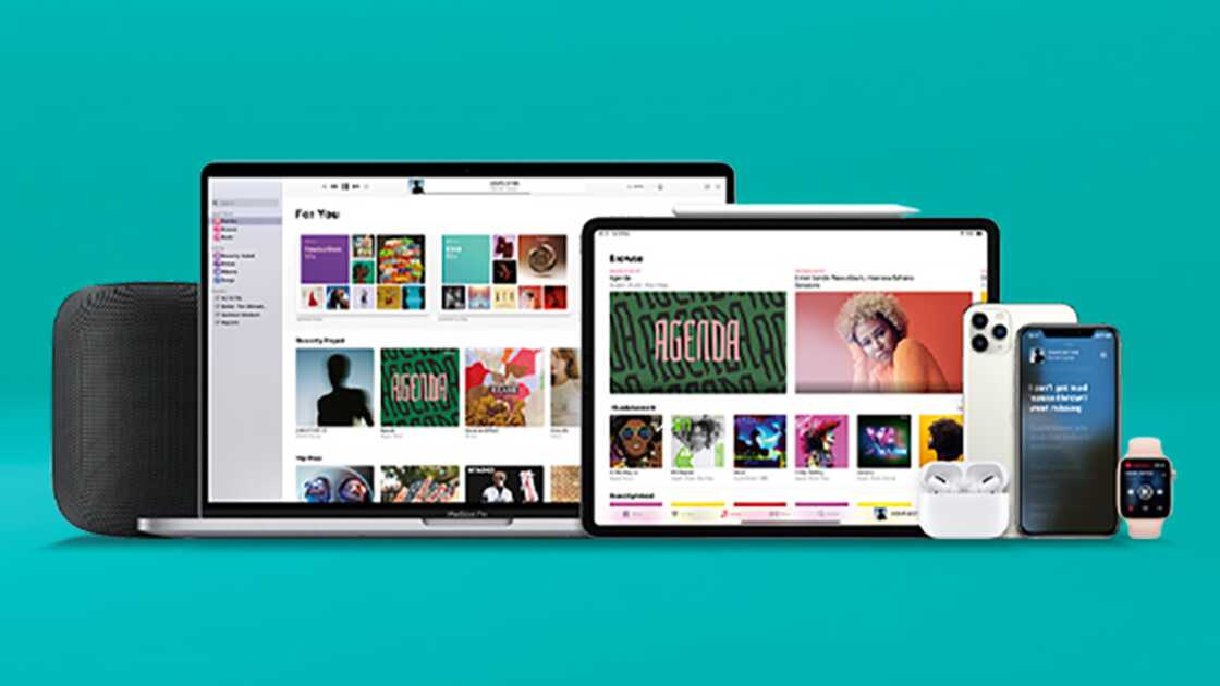 Apple Home, Macbook, Tablets and iPhones all together with Apple Music apps