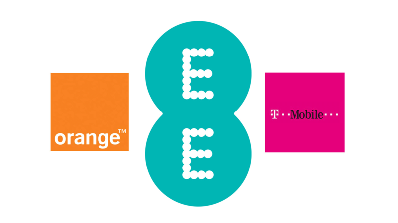 Orange EE and Tmobile