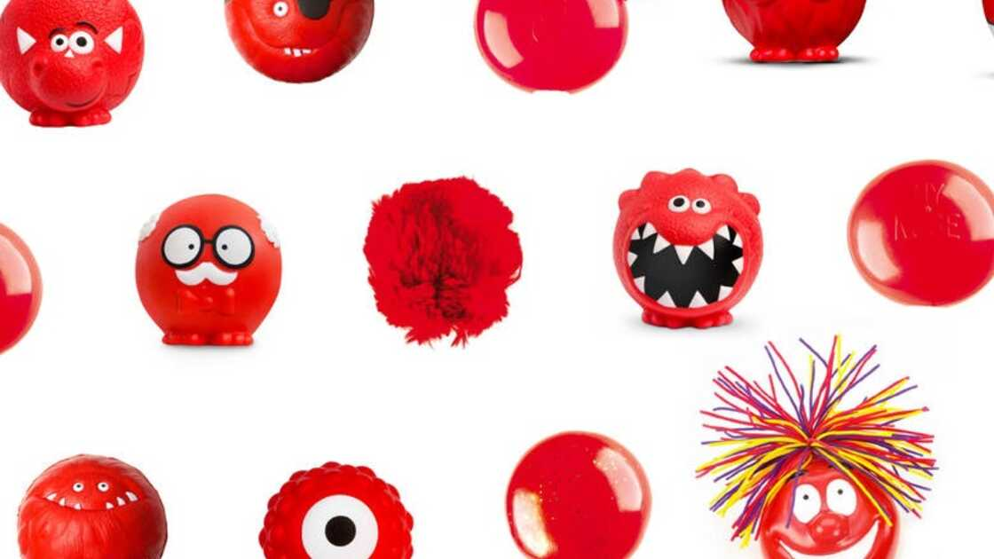 Various novelty red noses in support of Comic Relief