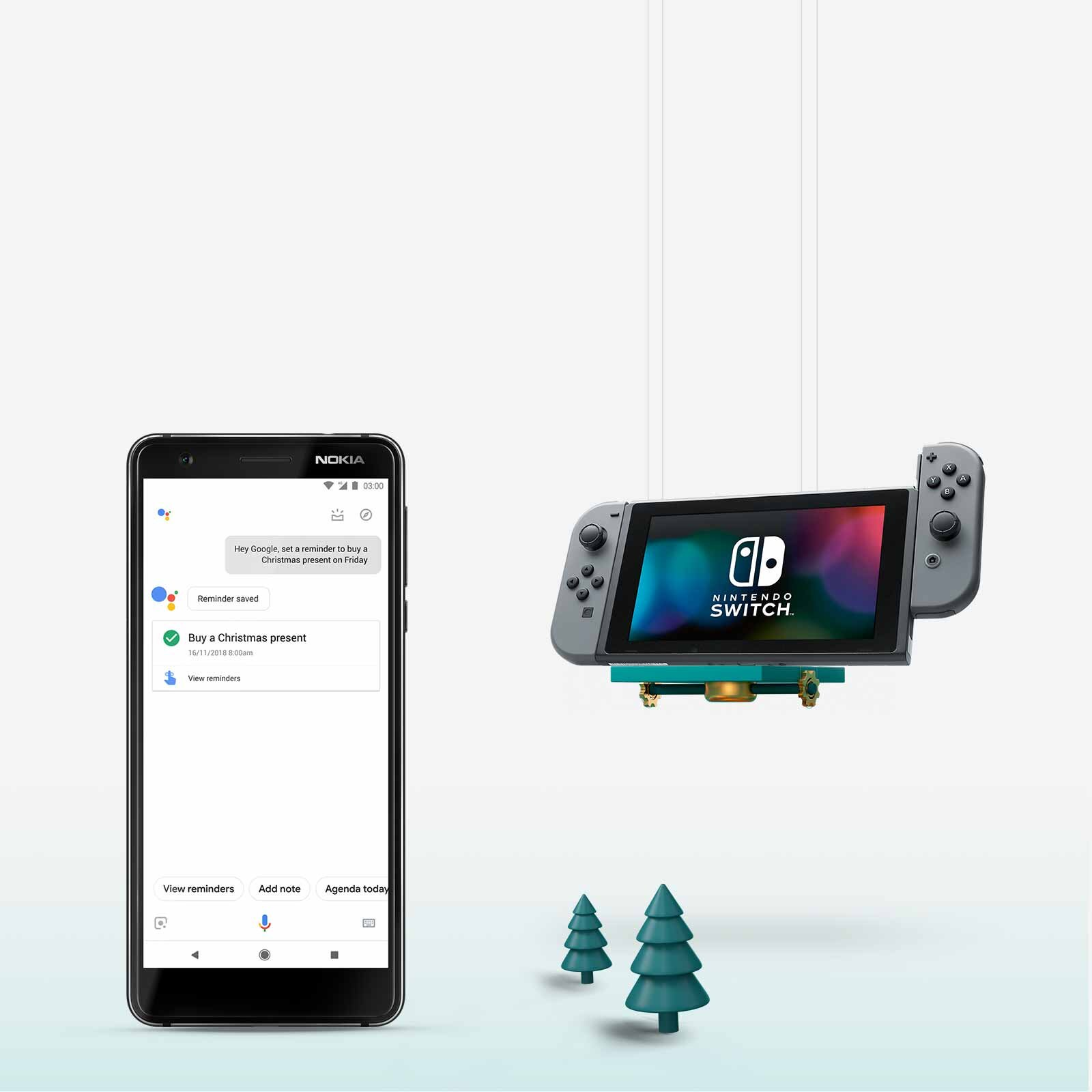 free nintendo switch when you buy a nokia 3.1 on a 10gb plan or above